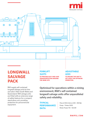 Longwall Salvage Pack