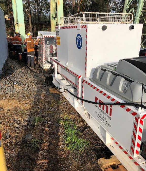 SALVAGE UNITS ENABLE SAFE RETRIEVAL OF MINING EQUIPMENT