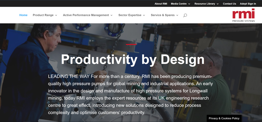 RMI New Website